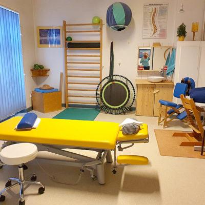 Behandlungsraum Physiotherapie
