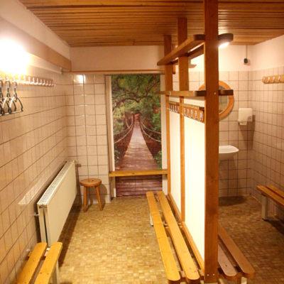 Umkleide Sauna