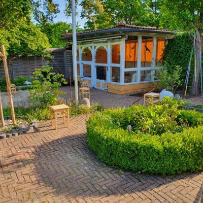 Saunagarten Abresch Außenbereich